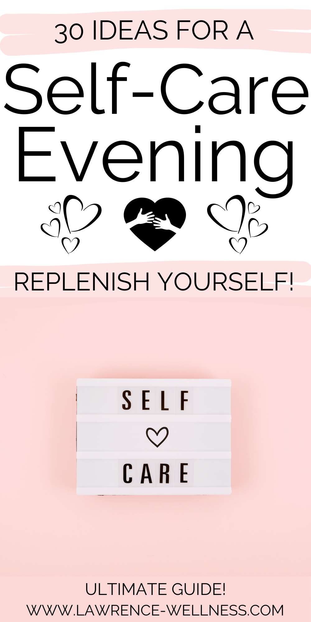 Self-care-evening-routine